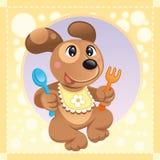 Cão do bebê ilustração stock