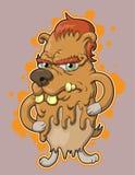 Cão do gotejamento Imagens de Stock