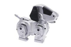 Cão do robô do brinquedo Fotos de Stock