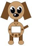 Cão do robô ilustração royalty free