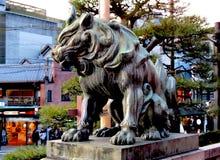 Cão do templo Imagens de Stock