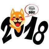 Cão 2018 do zodíaco Foto de Stock