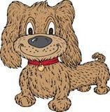 Cão dos desenhos animados ilustração do vetor