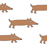 Cão dos desenhos animados Ilustração Stock