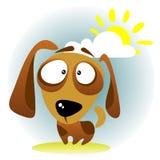 Cão dos desenhos animados Fotos de Stock