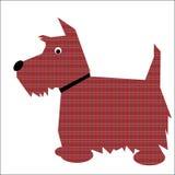 Cão escocês do terrier ilustração do vetor