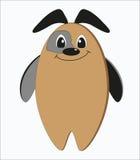 Cão estranho engraçado Imagens de Stock