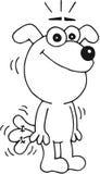 Cão feliz Imagens de Stock Royalty Free
