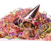 Cão Hungover Foto de Stock