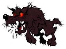 Cão marrom Embittered Fotografia de Stock