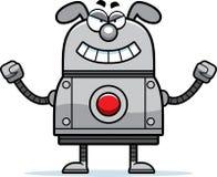 Cão mau do robô Imagens de Stock