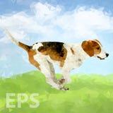 Cão poli Outdoors-01 [convertido] ilustração royalty free