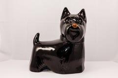 Cão preto do scottie fotografia de stock royalty free