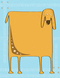 Cão quadrado Imagens de Stock