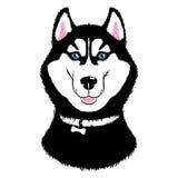 Cão ronco ilustração stock