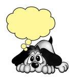 Cão triste Imagem de Stock Royalty Free