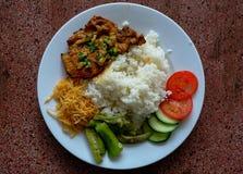 CÆ ¡ m tấm lub łamani ryż Fotografia Stock