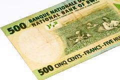 Cédula da moeda de África Imagem de Stock Royalty Free