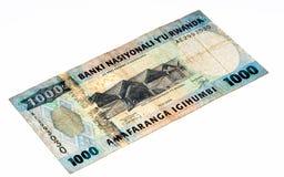 Cédula da moeda de África Foto de Stock