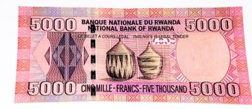 Cédula da moeda de África Fotografia de Stock Royalty Free