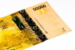 Cédula da moeda de África Fotos de Stock