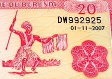 Cédula da moeda de África Imagens de Stock