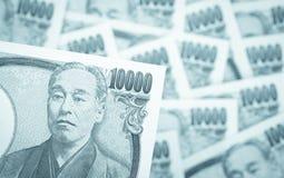 Cédula da moeda do iene japonês Foto de Stock Royalty Free