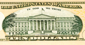 Cédula da moeda dos EUA Fotografia de Stock Royalty Free