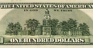 Cédula da moeda dos EUA Imagem de Stock Royalty Free