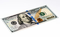 Cédula da moeda dos EUA Foto de Stock