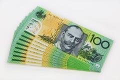 Cédula de Austrália fotos de stock