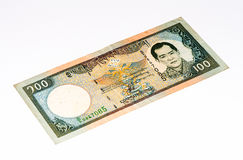 Cédula de Currancy de Ásia Imagens de Stock