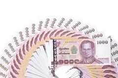 Cédula de Tailândia Imagens de Stock