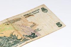 Cédula do currancy de Ámérica do Sul Fotografia de Stock