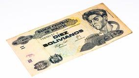 Cédula do currancy de Ámérica do Sul Fotos de Stock