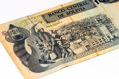 Cédula do currancy de Ámérica do Sul Imagens de Stock