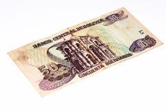 Cédula do currancy de Ámérica do Sul Fotos de Stock Royalty Free