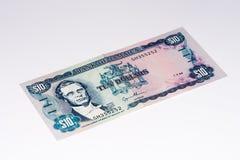 Cédula do currancy de Ámérica do Sul Fotografia de Stock Royalty Free