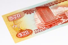 Cédula do currancy de Ámérica do Sul Foto de Stock Royalty Free