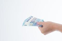 Cédula 2015 do Euro 20 Foto de Stock Royalty Free