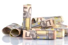 Cédula do euro cinqüênta Imagem de Stock Royalty Free
