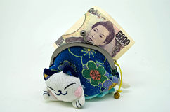 Cédula japonesa Imagem de Stock Royalty Free