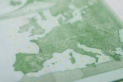 Cédulas de cem dinheiros dos euro Fotos de Stock