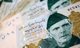 Cédulas de Paquistão Imagem de Stock