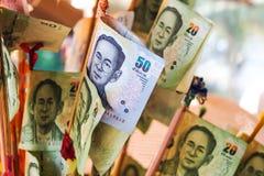 Cédulas de Tailândia Foto de Stock Royalty Free