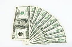 Cédulas do dólar Imagens de Stock