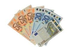 Cédulas do Euro Imagem de Stock
