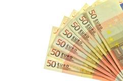 Cédulas do Euro Fotografia de Stock Royalty Free