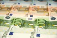 Cédulas do Euro Fotos de Stock Royalty Free