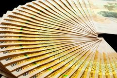 50.000 cédulas do xelim de Uganda Foto de Stock